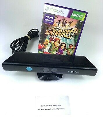 Kinect for Microsoft Xbox 360 - Sensor Bar Black - With Kinect Game