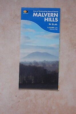 Map of the Malvern Hills by Harvey, 2007