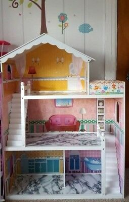 Wooden Large Kids Doll House