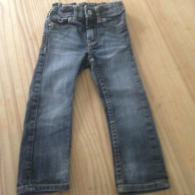 H&M Little Boys Faded Black Skinny Jeans - Age 18mths / 24 mths.