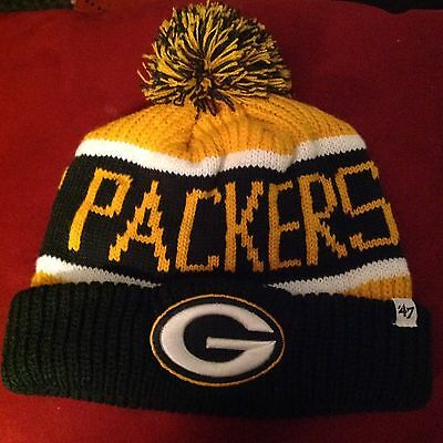 Youth Green Bay Packers NFL Winter Hat - One Size Fits All 2b8c16716