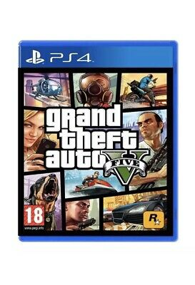 GTA V PS4 Grand Theft Auto V 5 gioco NUOVO incellophanato PlayStation 4