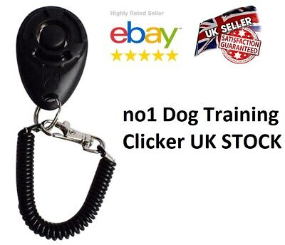 DOG  PET TRAINING CLICKER/TRAINER TEACHING TOOL /DOGS/PUPPY with Wrist Band