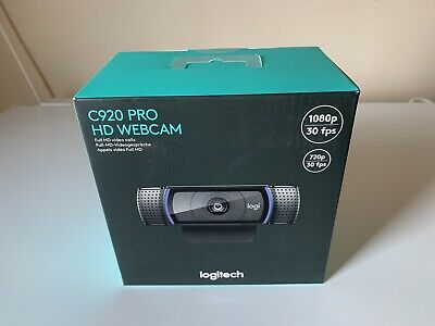 Logitech C920 HD Pro Webcam, Full HD 1080p Brand New In Box.