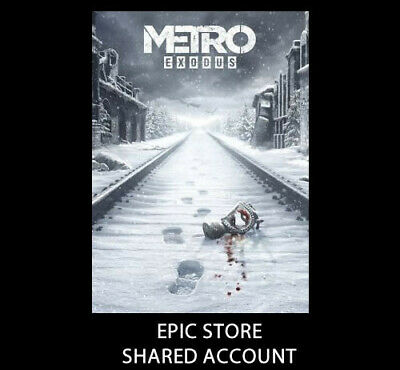 Metro Exodus Pc Multilanguage [Account Sharing ] Epic Game Launcher