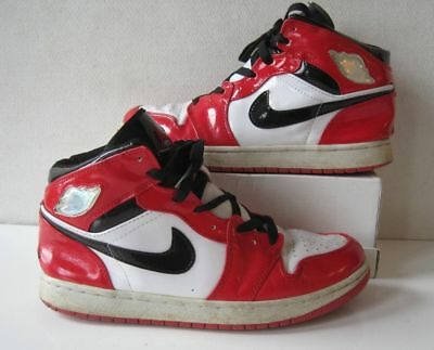 5a5d92a7cab NIKE AIR JORDAN 1 Chicago Mens Shoes Sz 10.5 11 Sneakers Red White 1985 of  2003