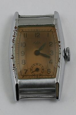 Vintage Original Art Deco Swiss Wristwatch  Axa Eta 717 Movement