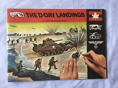 Patterson Blick Instant Picture Book, The D-Day Landings, Like Letraset