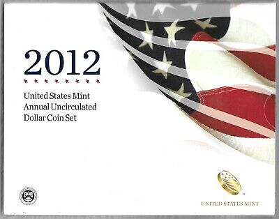 2012 United States Annual Uncirculated Dollar Coin Set