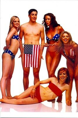 American Pie Girls And One Guy - In Bikinis And Nothing !!!