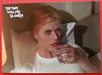 DAVID BOWIE - The Man Who Fell To Earth - PROMO #P6 - Unstoppable Cards 2013
