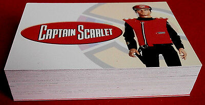 CAPTAIN SCARLET, COMPLETE BASE SET (54 cards) - Unstoppable Cards