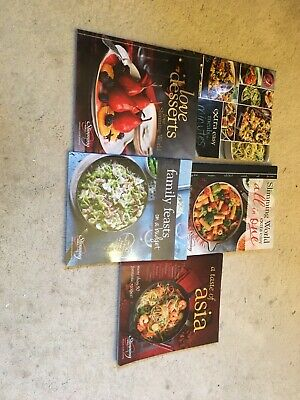 slimming world books used by 1 owner.  5 recipe books .