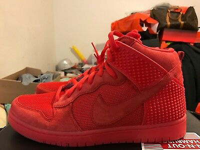 best sneakers 96f72 3d339 NEW Nike Dunk CMFT PRM Size 11.5 Premium Solar All Red October Yeezy 705433- 601
