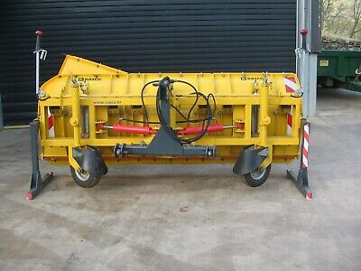 new Rasco snow plough to fit tractor