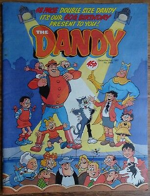 DANDY COMIC 60th BIRTHDAY SPECIAL EDITION.