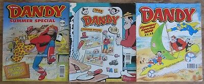 Three Consecutive Dandy Summer Specials 1997, 1998, 1999.