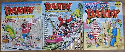 Three Consecutive Dandy Summer Specials 2000, 2001, 2002.