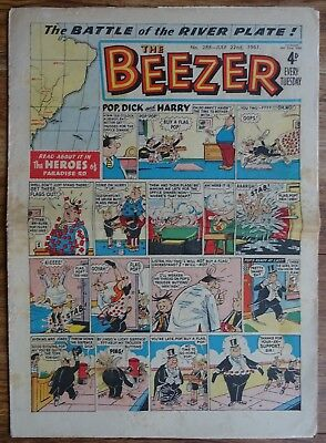 #288 BEEZER  22nd JULY 1961. EARLY EDITION.