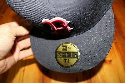 3184bc8e32397e ... new era boston red sox game 59fifty fitted hat navy mlb cap size 7