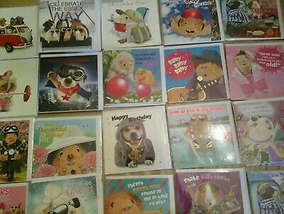 60 Crazy Gang Cards, Wholesale Joblot Greeting Cards