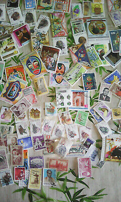 Lot 100 Timbres Afrique N/o