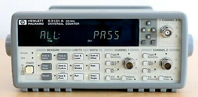 HP / Agilent 53131A 225 MHz Universal Frequency Counter/Timer w / Option 030