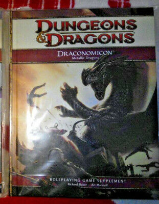 D&D 4 Draconomicon Metallic Dragons RPG Rollenspiel Dungeons & Dragons Fantasy