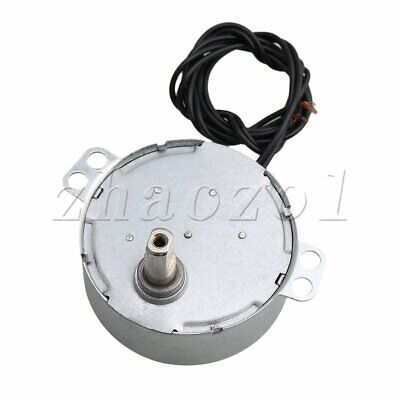 Metal Synchronous Reduction Gear Motor AC220V for Christmas Tree Heating Sliver
