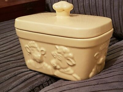 I Can't Believe It's Not Butter Dish by Wade Collectable Collector Item N Lurpak