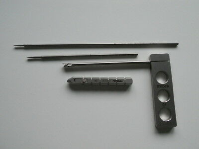 Surgical.4x Mitek Drill Guides/Bits.214561,214528.211513,211030.  Free UK P&P.