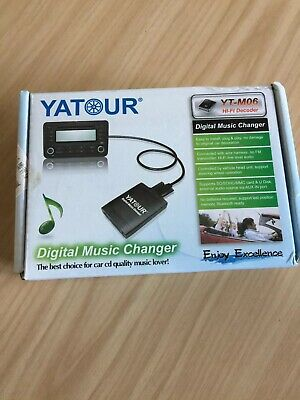 Yatour M06 Digital Music Changer USB SD AUX MP3 Interface For Mazda 3 Mk1