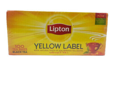 Tea Bags Lipton lot 100 20 Black Green ~ Ct Natural 2 1 Box Pack Free Shipping