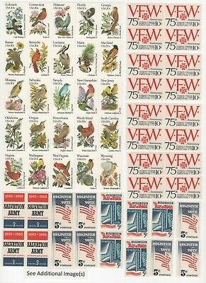 Discount Postage Stamps Enough to Mail 25 One Ounce Letters - Face Value $13.75