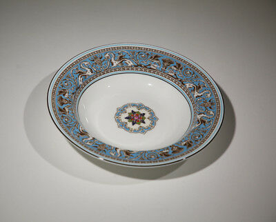 """Wedgwood Florentine Turquoise Rimmed 8"""" Inch Soup Bowl - NEW"""