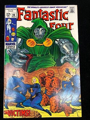 Fantastic Four #86 (May 1969, Marvel) High Grade And UNREAD! NM-