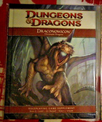 D&D 4 Draconomicon Chromatic Dragons RPG Rollenspiel Dungeons & Dragons Fantasy