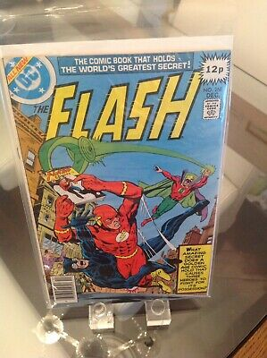 "The Flash 268 Vol 1 ""Riddle Of The Runaway Comic"" 1st Print"