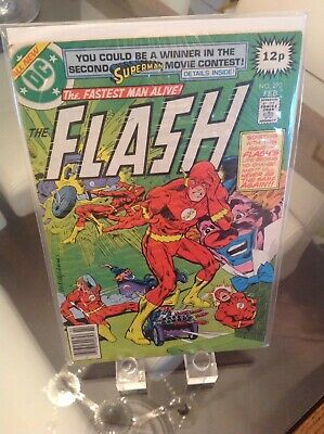 The Flash 270 Vol 1 Key 1st Appearance Of Clown & Clive Yorken 1st Print