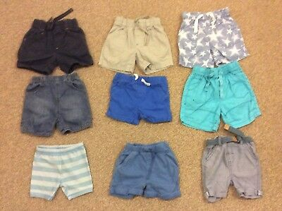 Baby Boys 9-12 Months Shorts Bundle