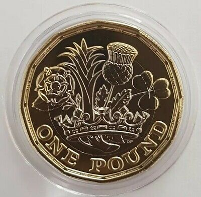 2017 Royal Mint Nations of the Crown One Pound £1 Coin Brilliant Uncirculated BU