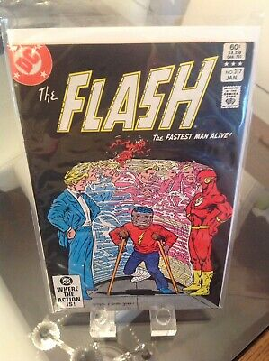"The Flash 317 Vol 1 Key Goldface & Eradicator Appearance ""A Fast Way To Die"""