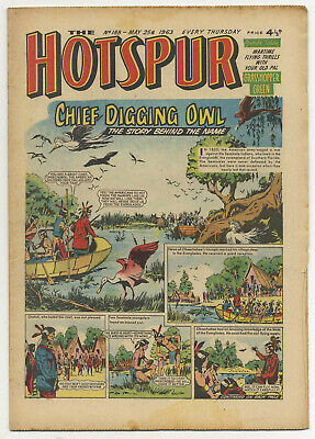 The Hotspur 188 (May 25 1963) high grade copy