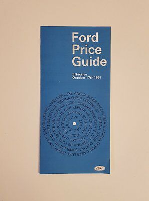 Ford Price Guide 1967