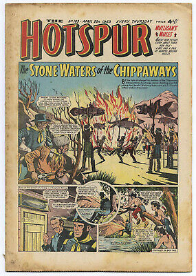 The Hotspur 183 (April 20 1963) high grade copy