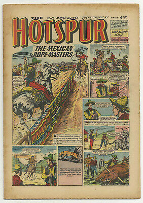 The Hotspur 179 (March 23 1963) high grade copy