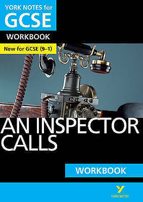 An Inspector Calls: York Notes for GCSE (9-1) Workbook by Mary Green (Paperback,