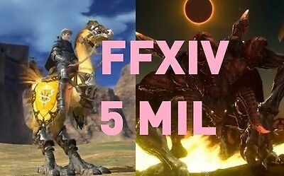 5 Million gil [ Balmung - NA ] Final Fantasy XIV -  FFXIV - PC PS4 PS3 5000K,5M