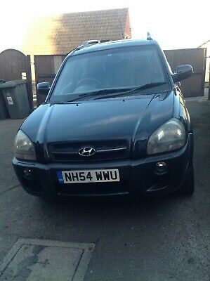 Hyundai Tucson 4x4 2004 low mileage 50,000 black, petrol leather interior