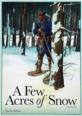 A Few Acres of Snow by Treefrog Games 2nd Edition Martin Wallace RARE OOP